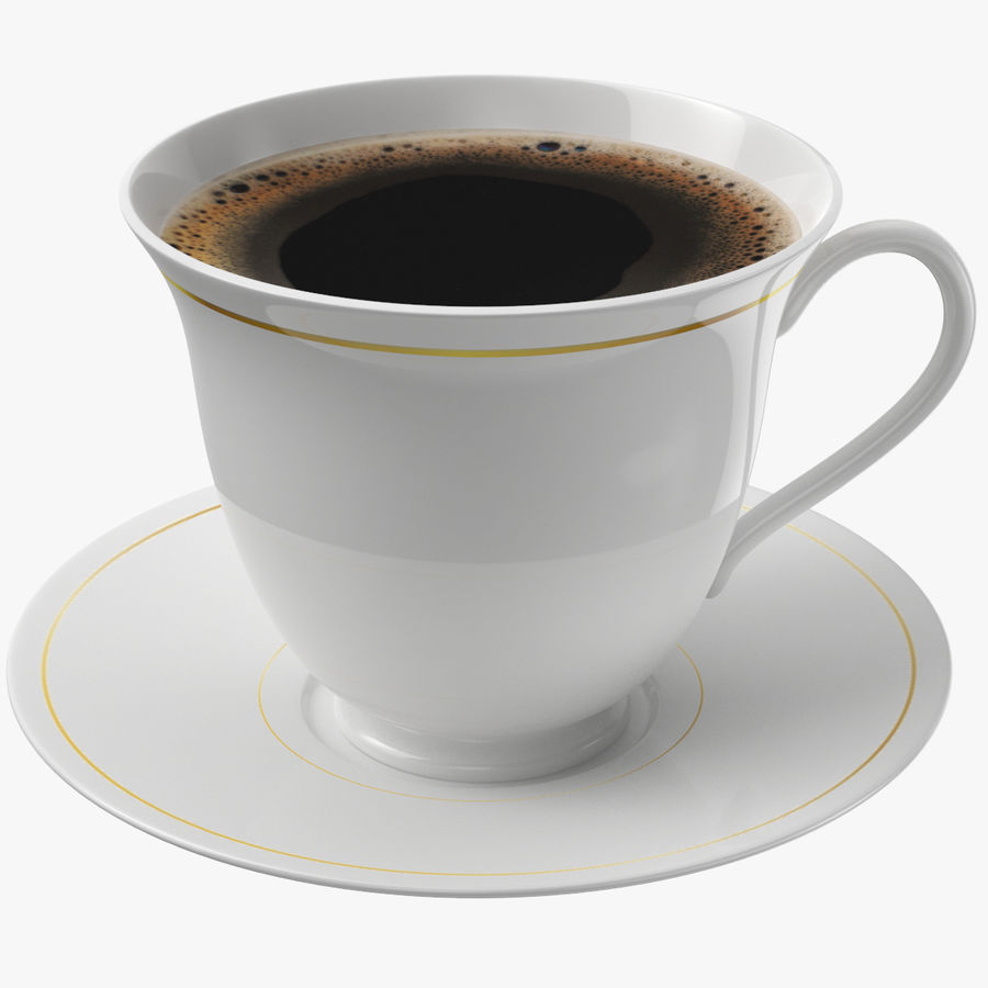 Tasse à café royalty-free 3d model - Preview no. 1