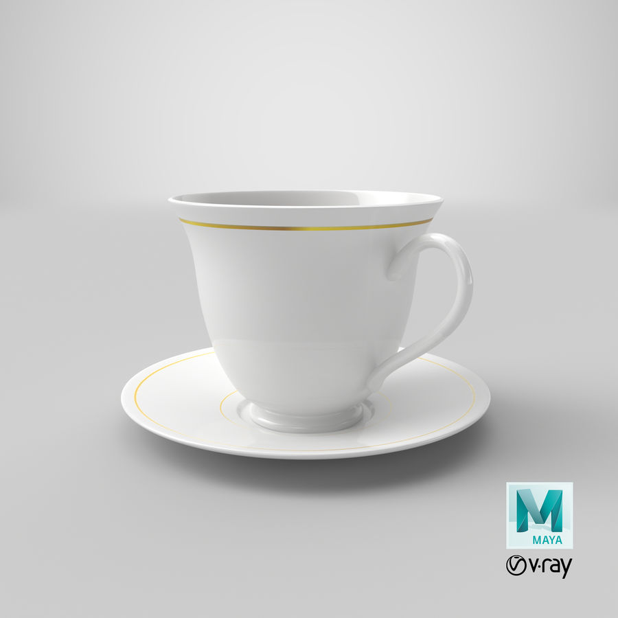 Tasse à café royalty-free 3d model - Preview no. 13