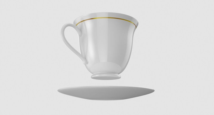 Tasse à café royalty-free 3d model - Preview no. 7