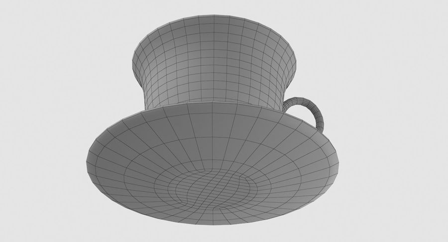 Tasse à café royalty-free 3d model - Preview no. 11