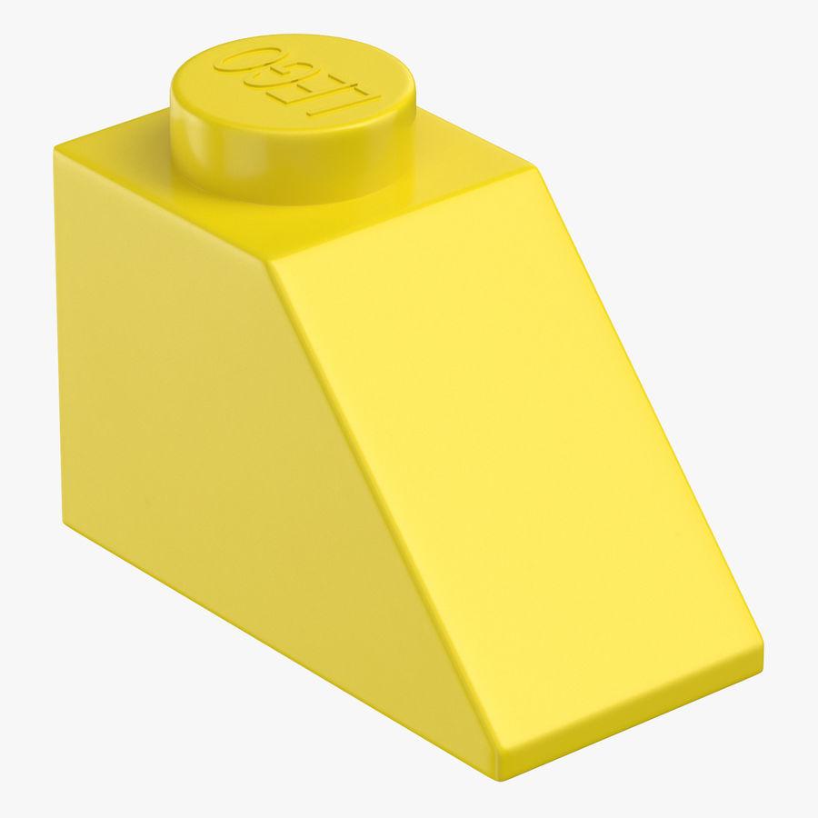Lego 2x1 Slope Brick Yellow Lot of 20 New