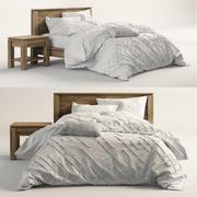 Walker natuurlijk bed 3d model