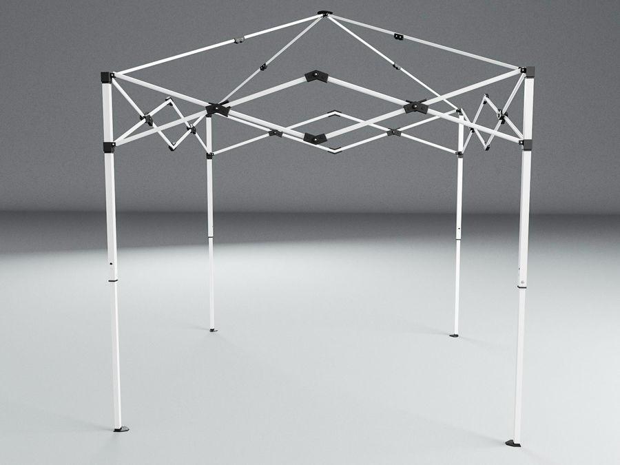 이벤트 텐트 4x4 3D 모델 3D 모델 royalty-free 3d model - Preview no. 15