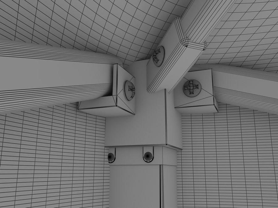 이벤트 텐트 4x4 3D 모델 3D 모델 royalty-free 3d model - Preview no. 29