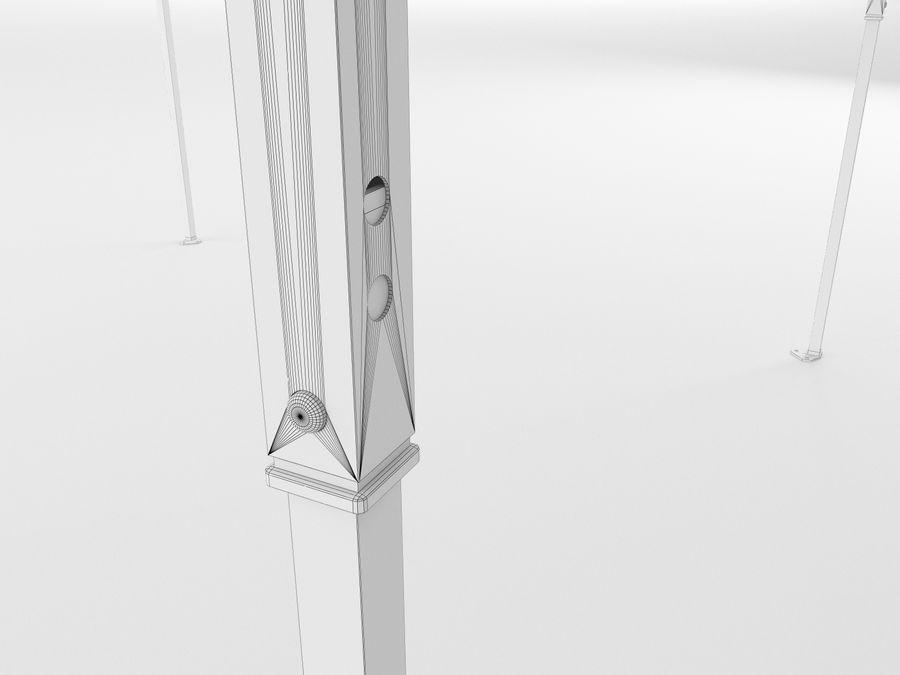 이벤트 텐트 4x4 3D 모델 3D 모델 royalty-free 3d model - Preview no. 21