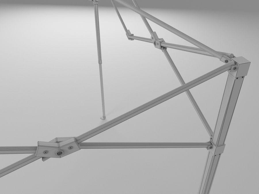 이벤트 텐트 4x4 3D 모델 3D 모델 royalty-free 3d model - Preview no. 34