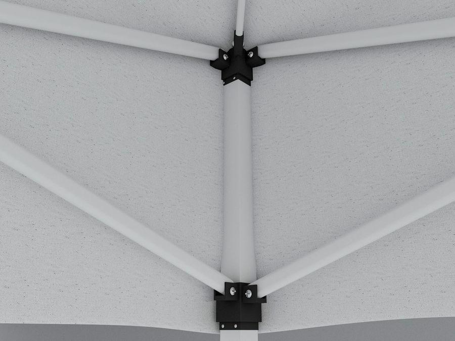 이벤트 텐트 4x4 3D 모델 3D 모델 royalty-free 3d model - Preview no. 10