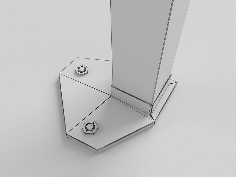 이벤트 텐트 4x4 3D 모델 3D 모델 royalty-free 3d model - Preview no. 23