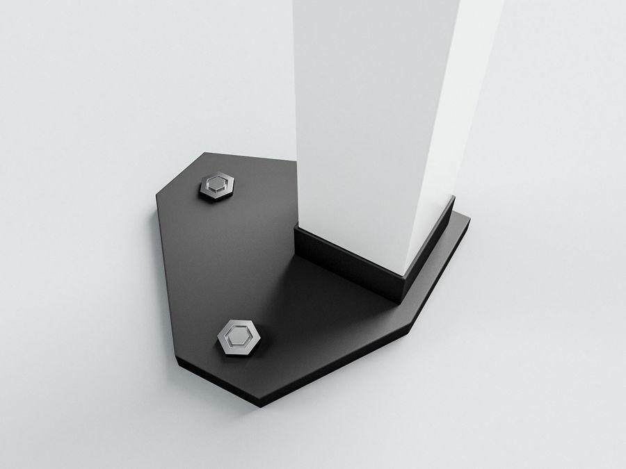 이벤트 텐트 4x4 3D 모델 3D 모델 royalty-free 3d model - Preview no. 5