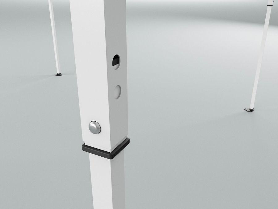 이벤트 텐트 4x4 3D 모델 3D 모델 royalty-free 3d model - Preview no. 4
