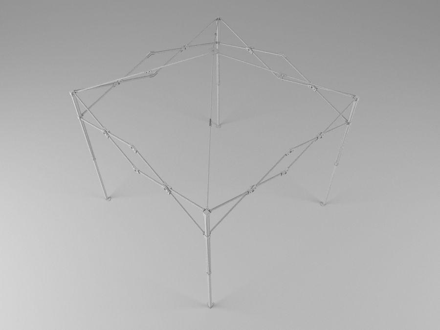 이벤트 텐트 4x4 3D 모델 3D 모델 royalty-free 3d model - Preview no. 32