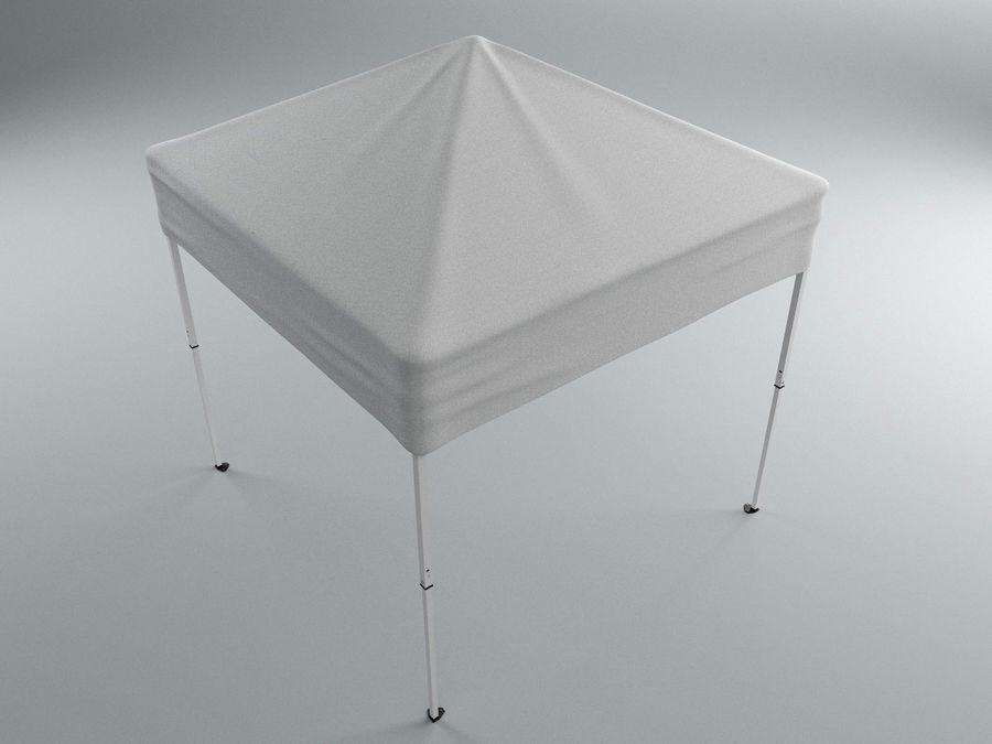 이벤트 텐트 4x4 3D 모델 3D 모델 royalty-free 3d model - Preview no. 1