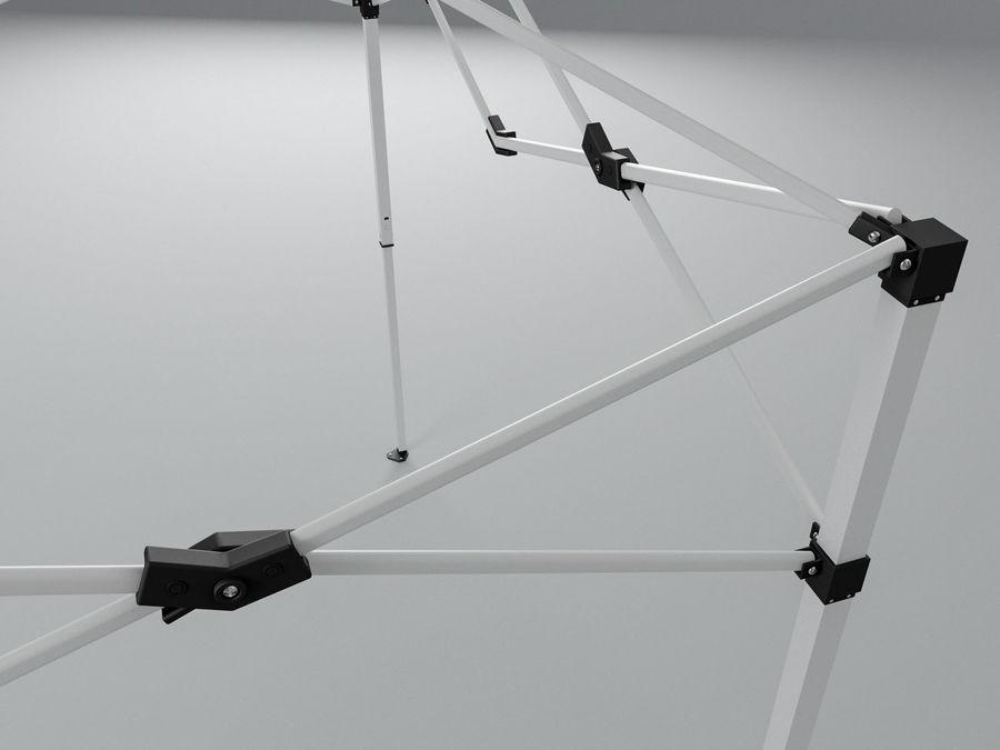 이벤트 텐트 4x4 3D 모델 3D 모델 royalty-free 3d model - Preview no. 16