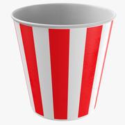 Tasse de papier vide 3d model