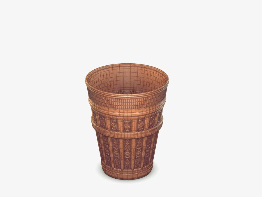 Plant Pot royalty-free 3d model - Preview no. 8