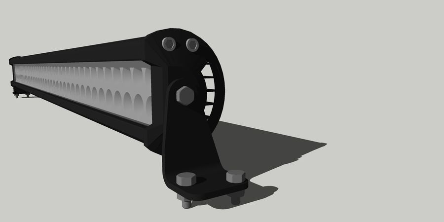 80 Led ight royalty-free modelo 3d - Preview no. 5