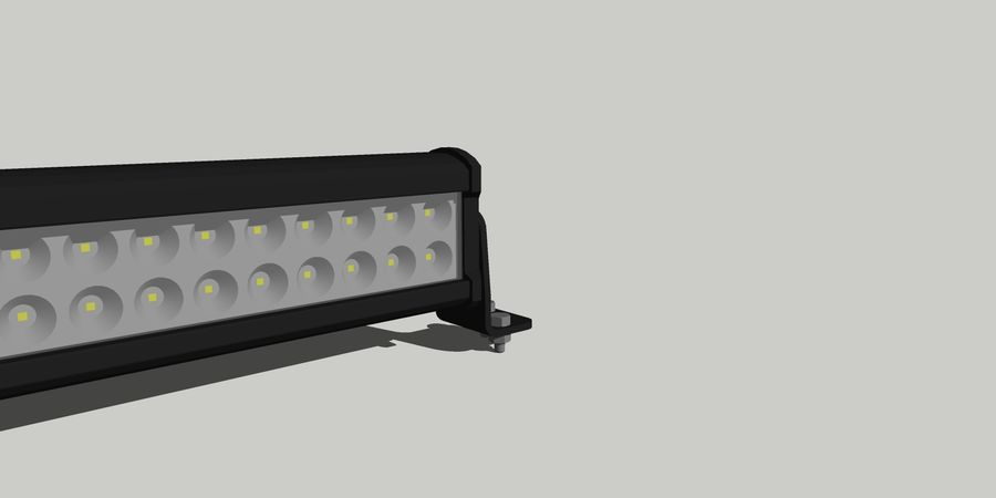 80 Led ight royalty-free modelo 3d - Preview no. 6