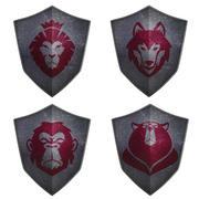 Game Shield Pack 3d model