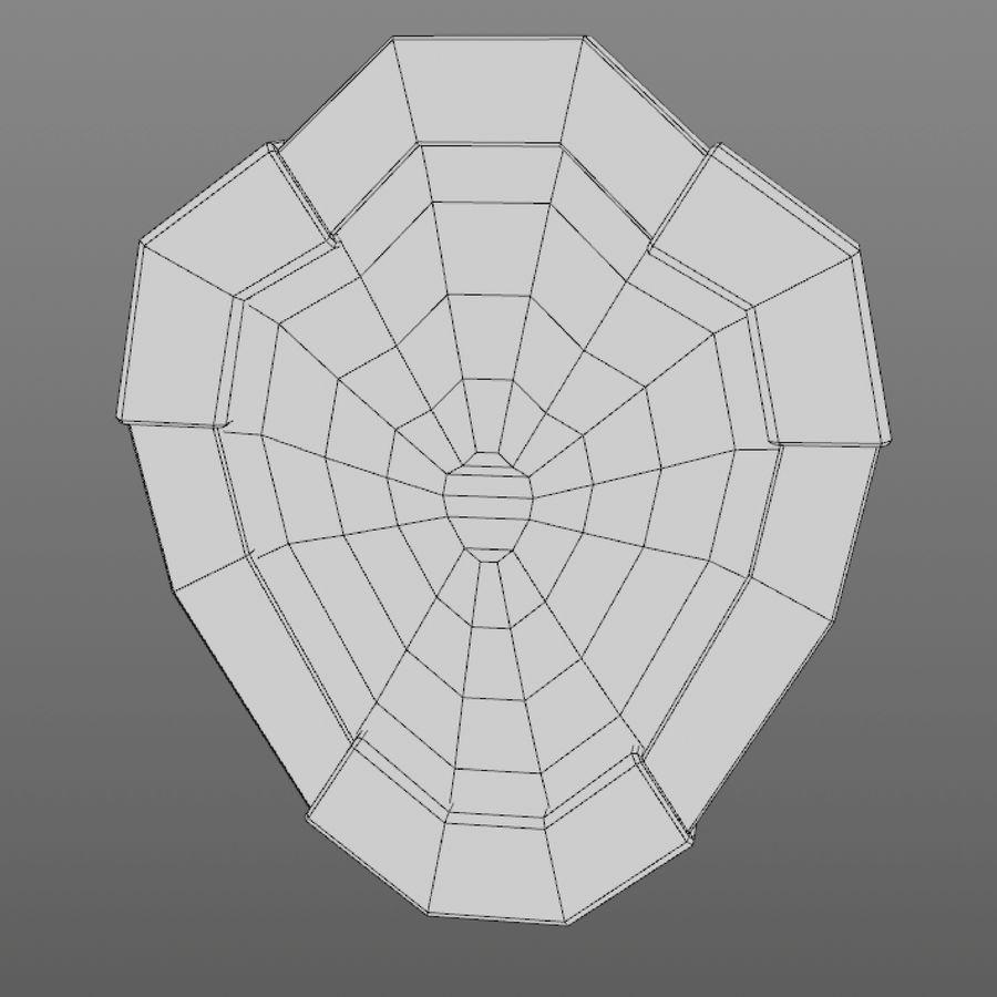 만화 방패 세트 royalty-free 3d model - Preview no. 27