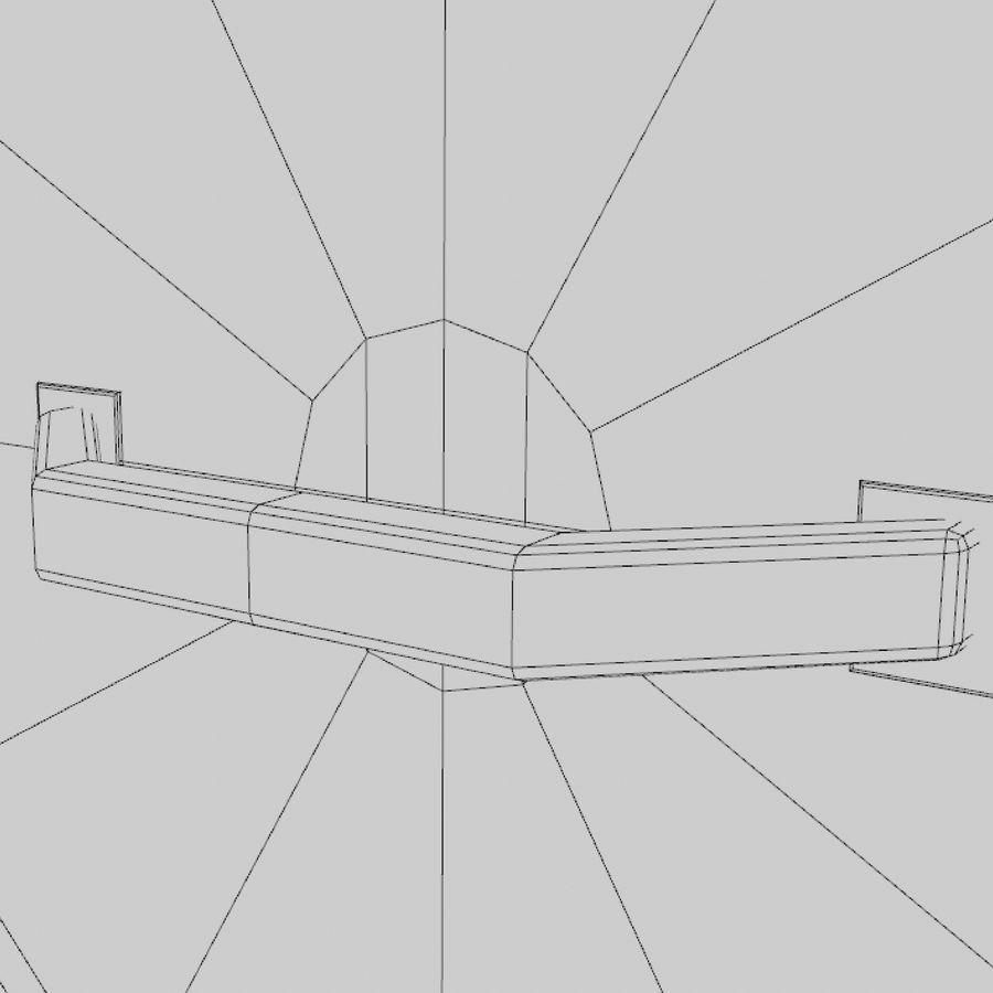 만화 방패 세트 royalty-free 3d model - Preview no. 11