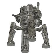 Iron Mecha fan mecha modelo 3d