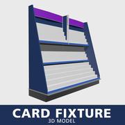 Accesorio de tarjeta modelo 3d