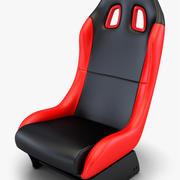 Car Racing Seat v 1 3d model