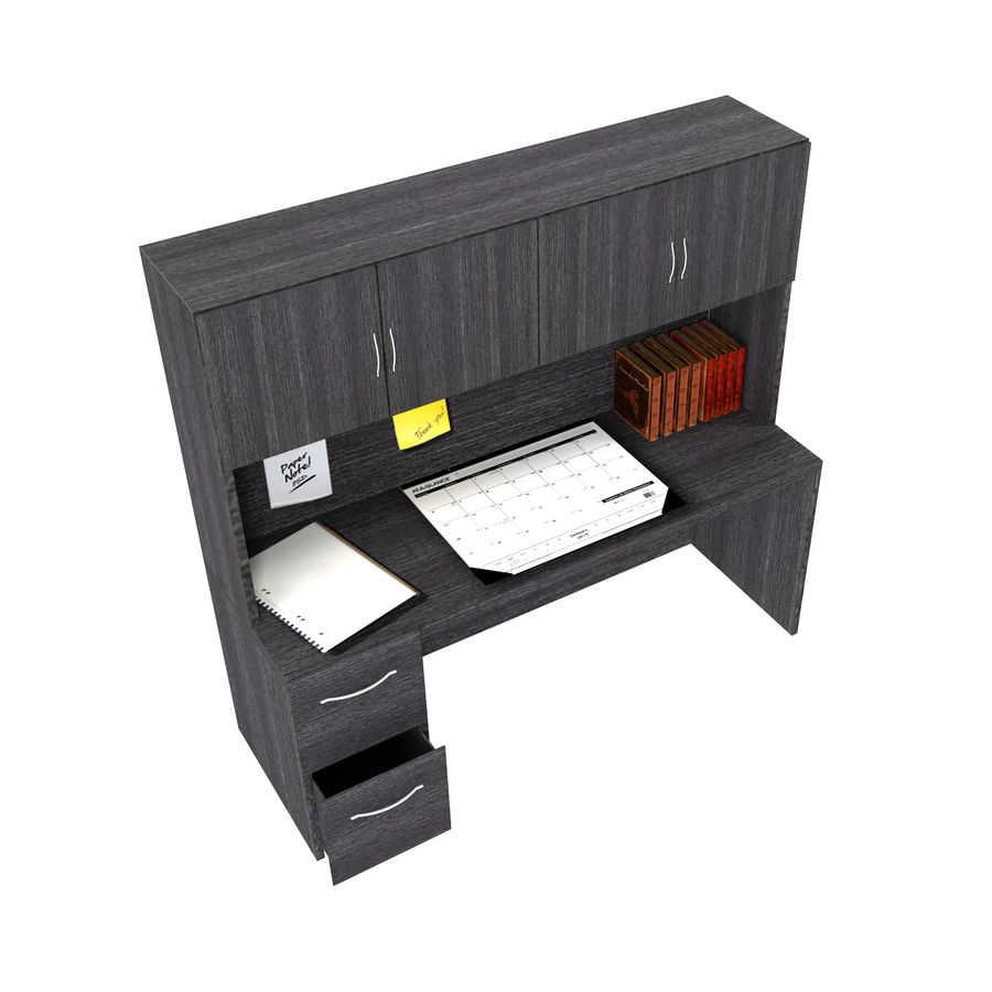 Office Hutch royalty-free 3d model - Preview no. 1
