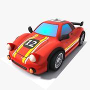 Toon Sports Rennwagen 3d model