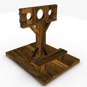 Medieval stock 3d model