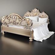 Italiensk säng 3d model