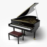 Grand Piano 3D 3d model