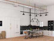 Кухня Магнолия 3d model
