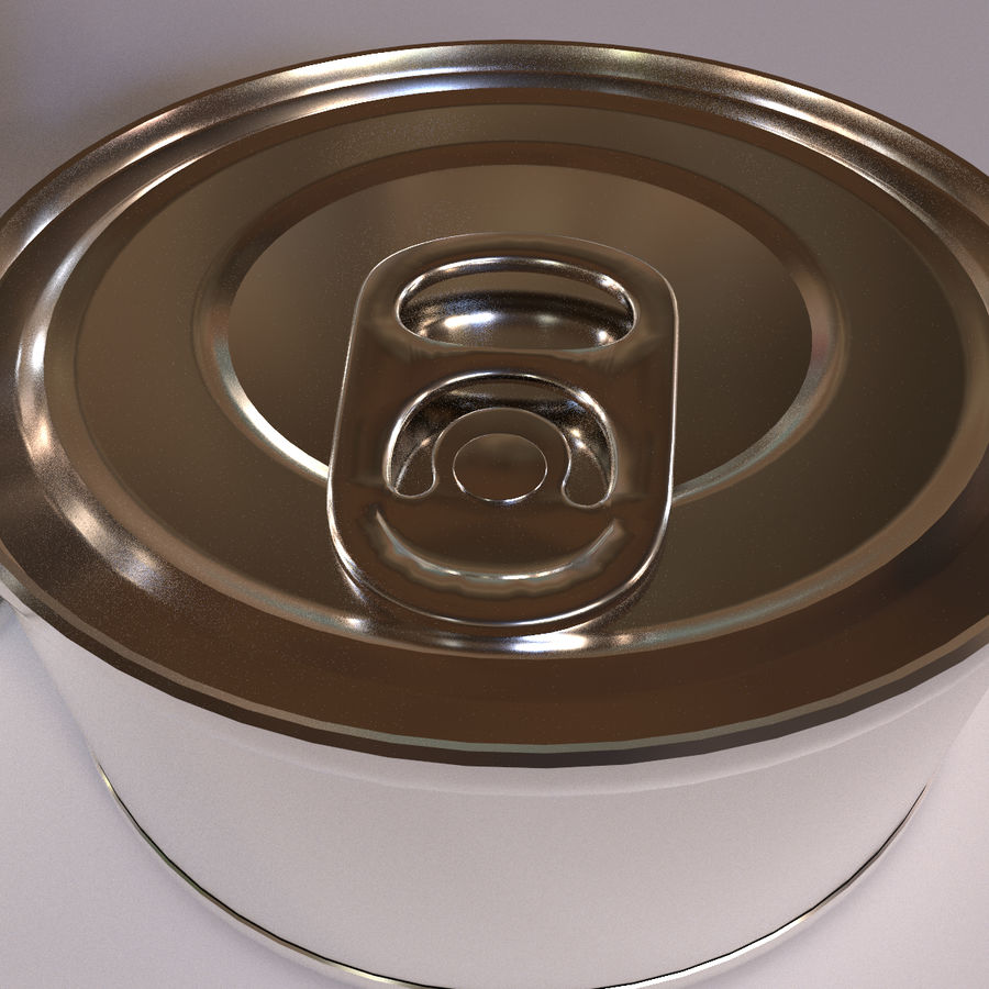 Tins Cans Pack royalty-free 3d model - Preview no. 8