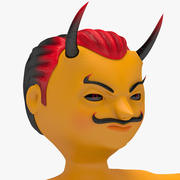 Postać Cute Devil 3D Model Model 3d model
