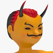 Симпатичный дьявол 3d model