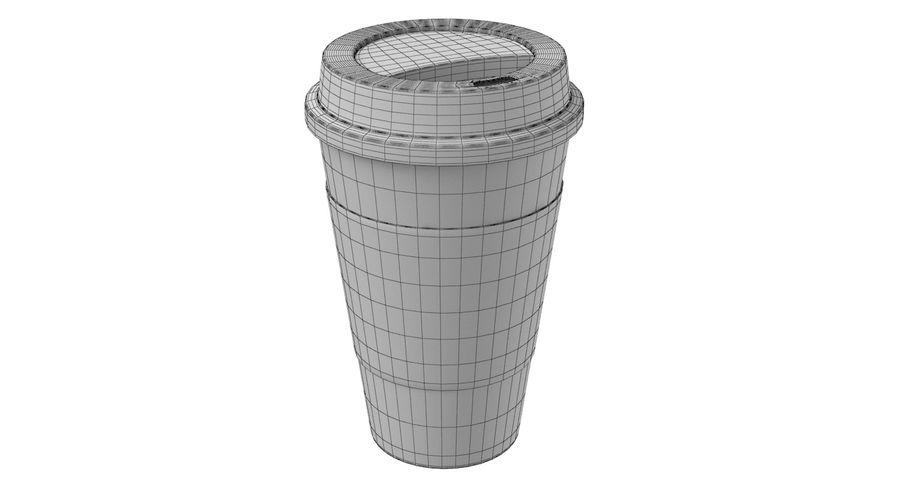Tasse à café royalty-free 3d model - Preview no. 10