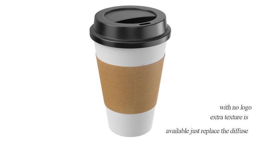 Tasse à café royalty-free 3d model - Preview no. 8