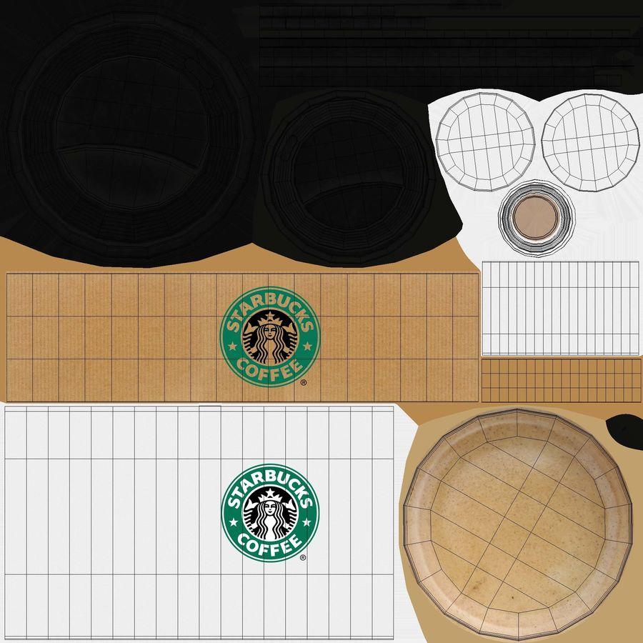 Tasse à café royalty-free 3d model - Preview no. 13