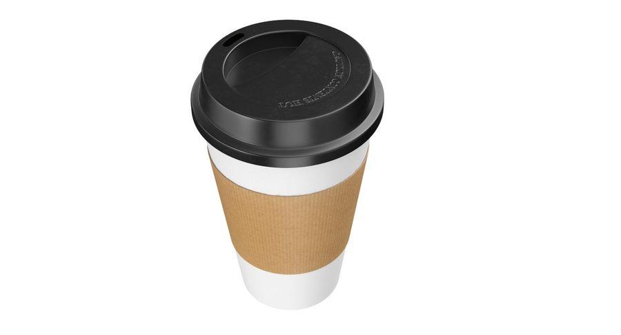 Tasse à café royalty-free 3d model - Preview no. 6