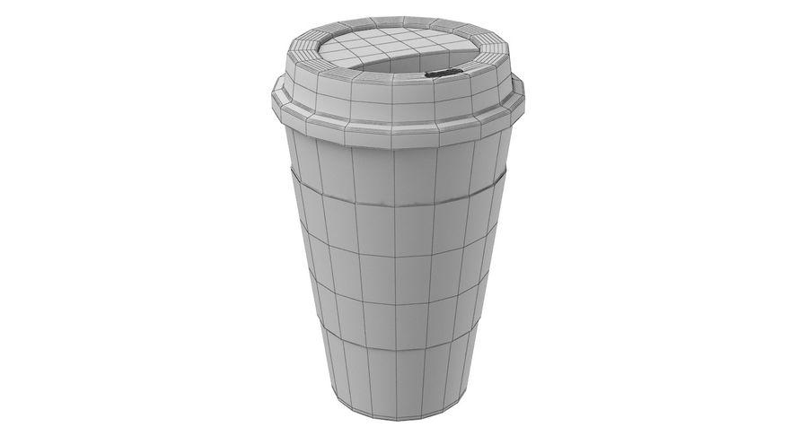 Tasse à café royalty-free 3d model - Preview no. 9