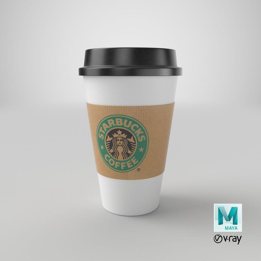 Tasse à café royalty-free 3d model - Preview no. 14