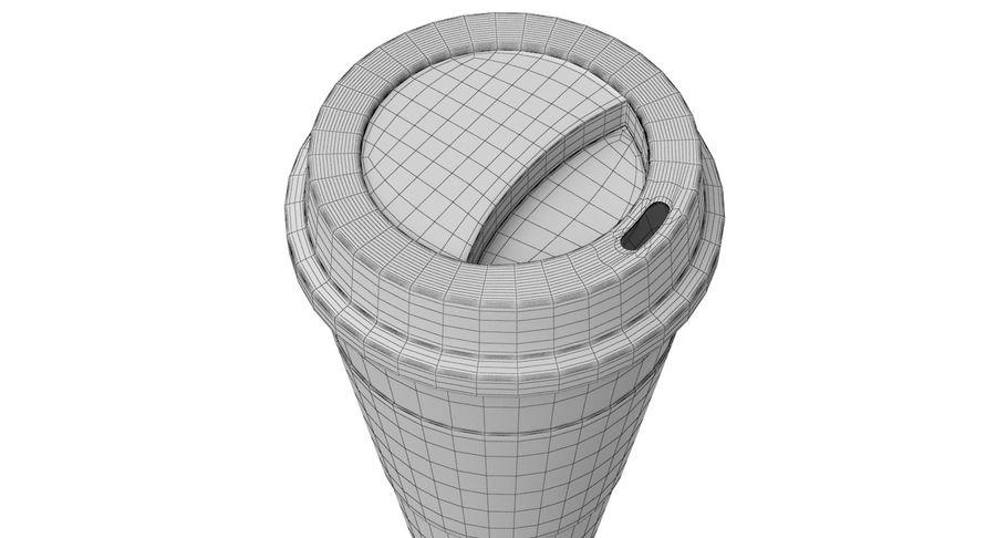 Tasse à café royalty-free 3d model - Preview no. 12