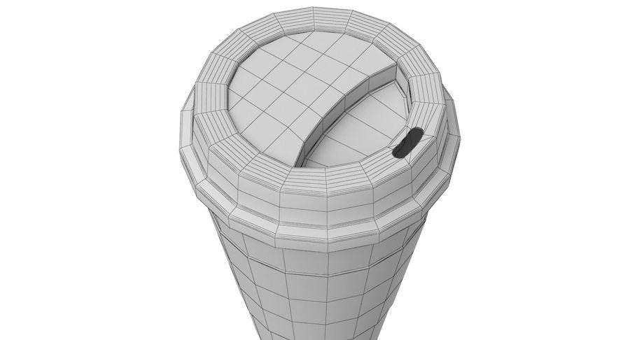 Tasse à café royalty-free 3d model - Preview no. 11