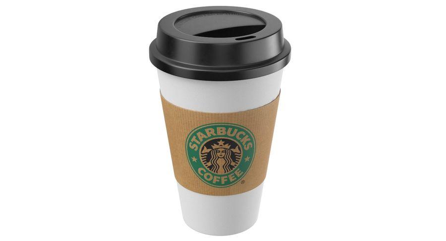 Tasse à café royalty-free 3d model - Preview no. 2