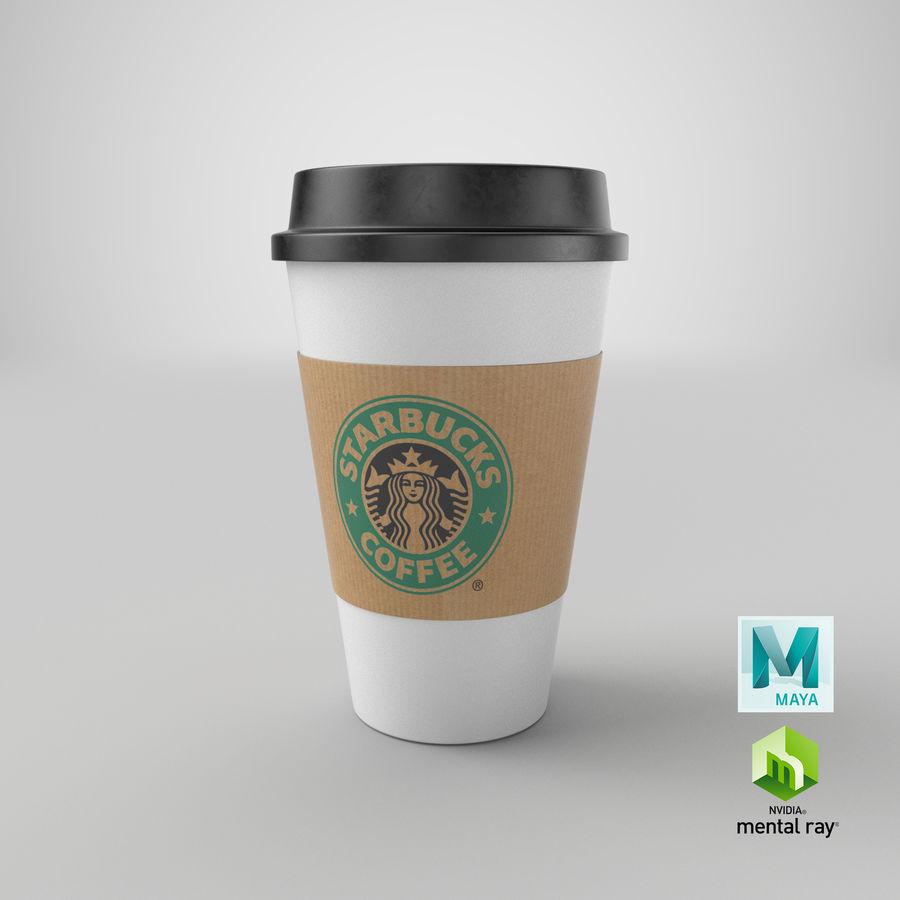 Tasse à café royalty-free 3d model - Preview no. 15