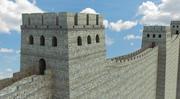 Castelo de Muro 3d model