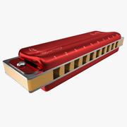 Mouth Organ Modello 3D 3d model
