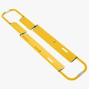 Backboard Scoop Stretcher 03 3d model