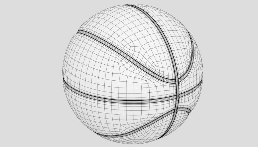 Sport di pallacanestro royalty-free 3d model - Preview no. 12